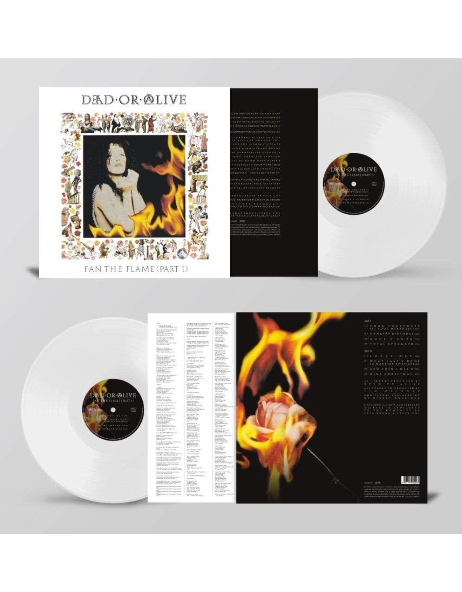Dead Or Alive - Fan The Flame (Part 1) [White Vinyl]