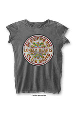 The Beatles / Sgt. Pepper's Lonely Hearts Women's Burnout Tee