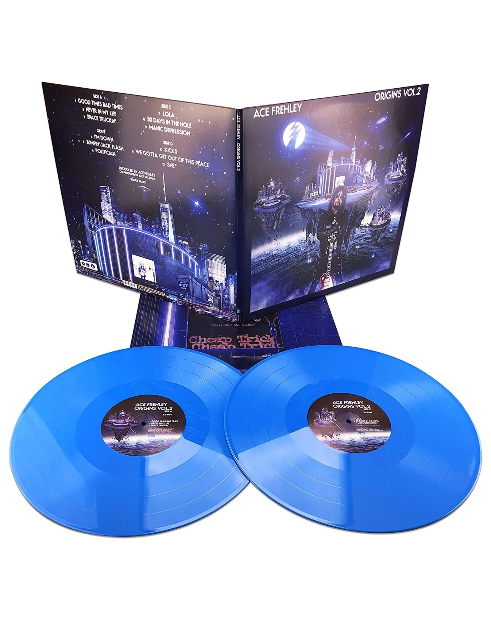 Ace Frehley - Origins Vol. 2 (Blue Vinyl)