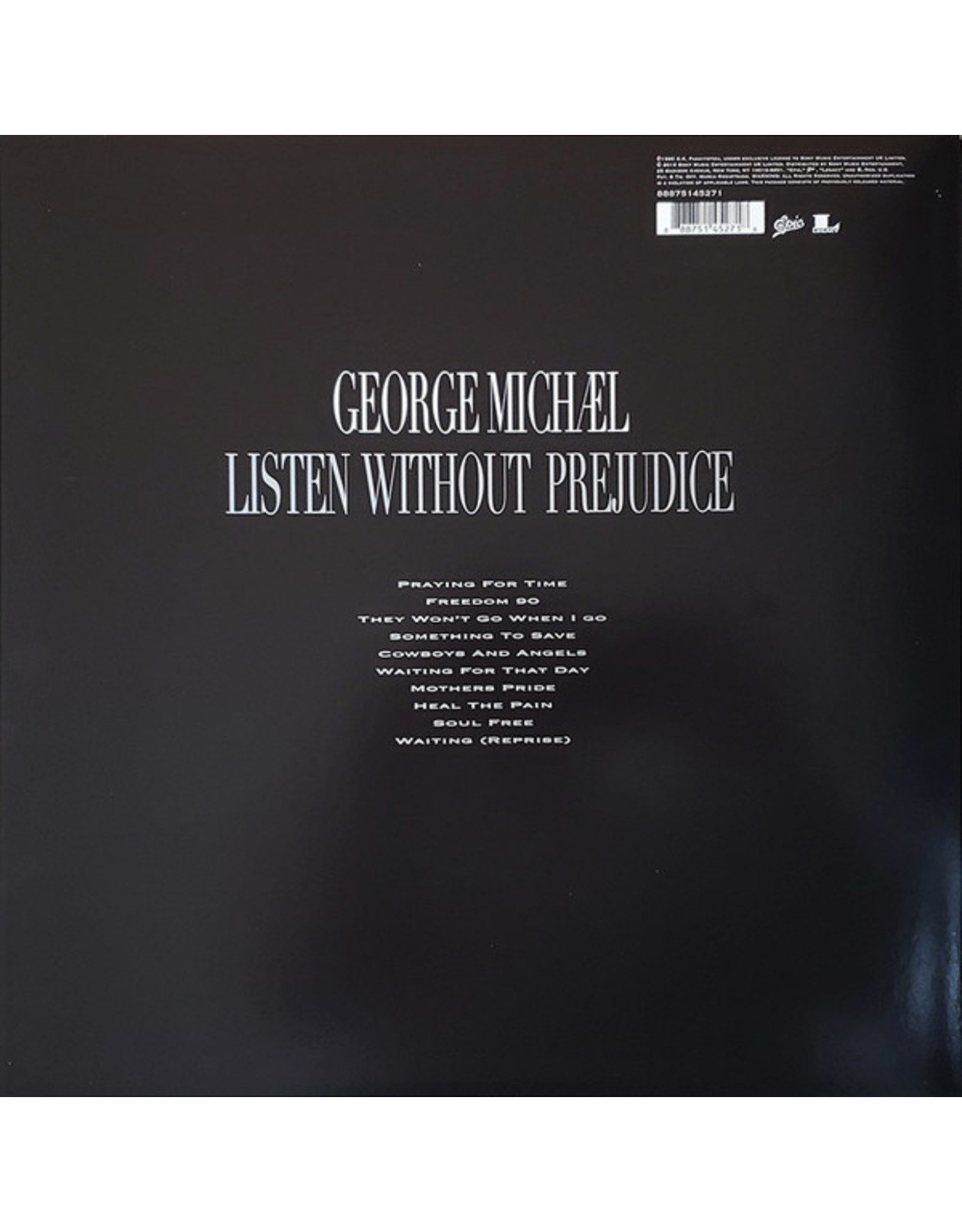 George Michael - Listen Without Prejudice Vol. 1 (25th Anniversary)