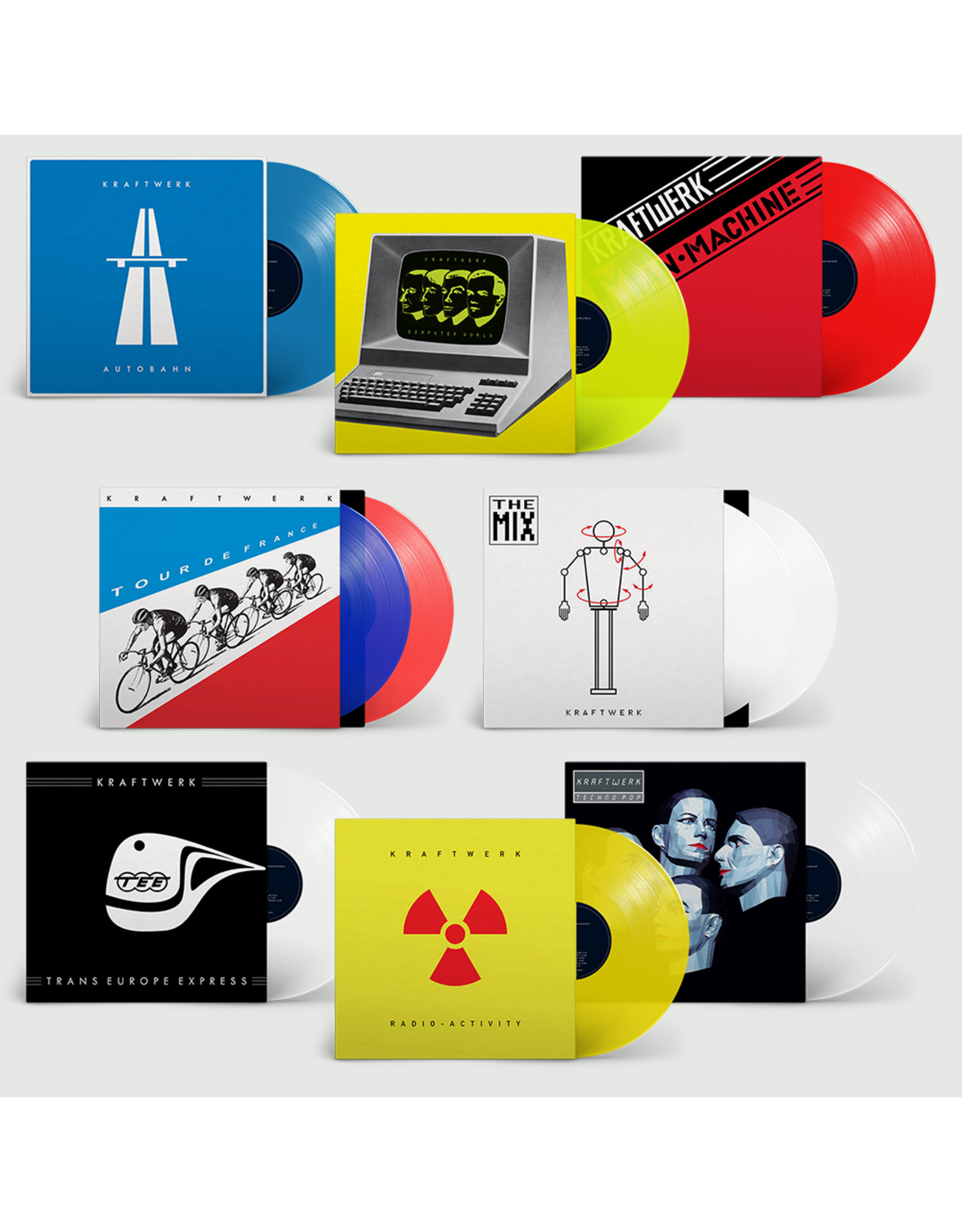 Kraftwerk - Autobahn (Blue Vinyl)
