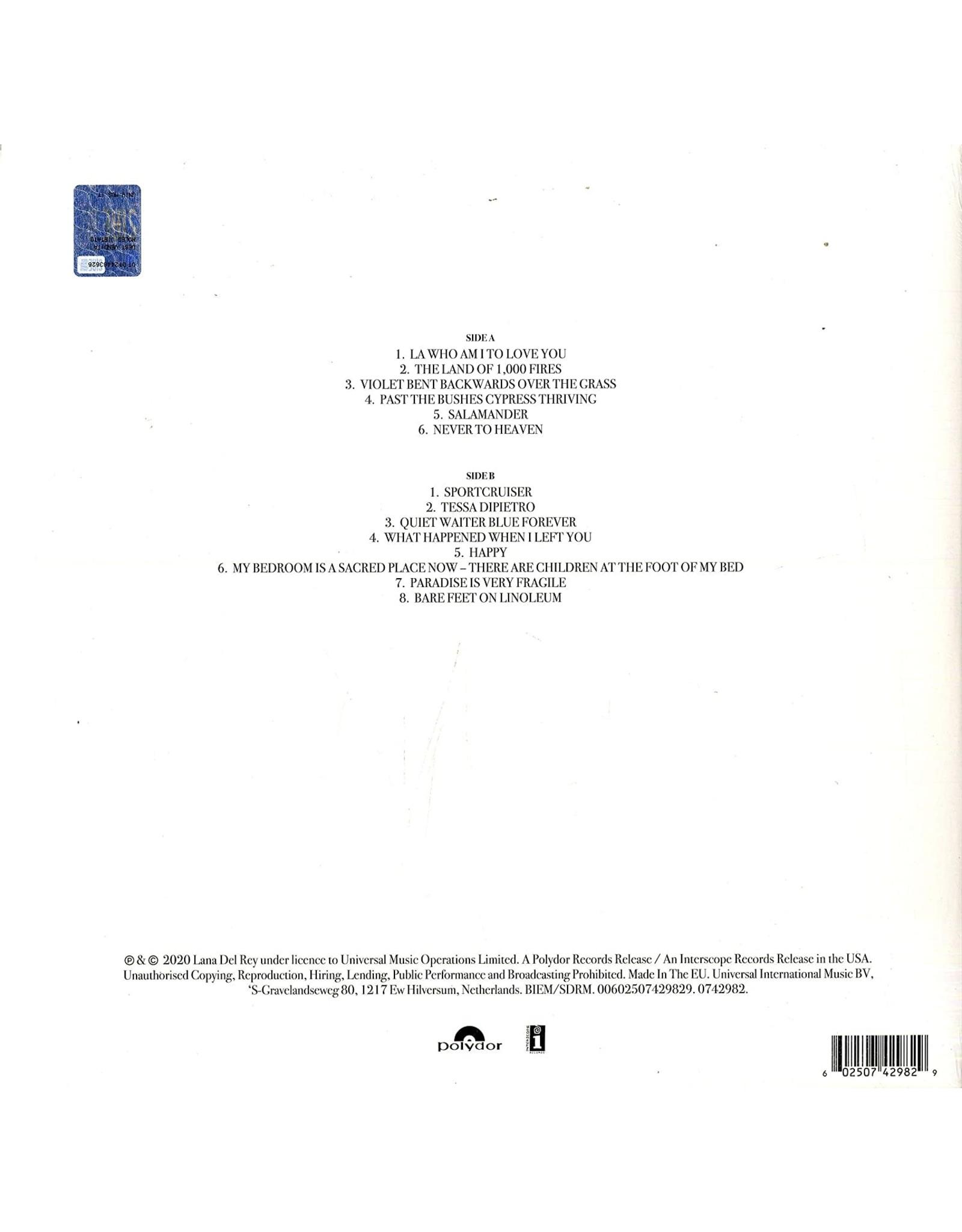 Lana Del Rey - Violet Bent Backwards Over The Grass (Exclusive Green Vinyl)