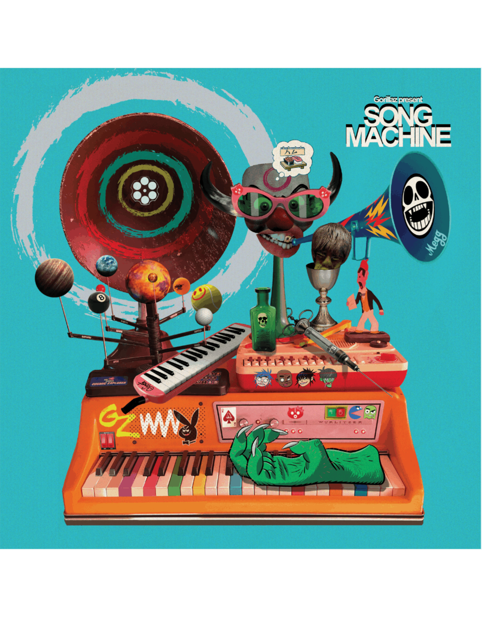 Gorillaz - Song Machine: Season One (Exclusive Orange Vinyl)