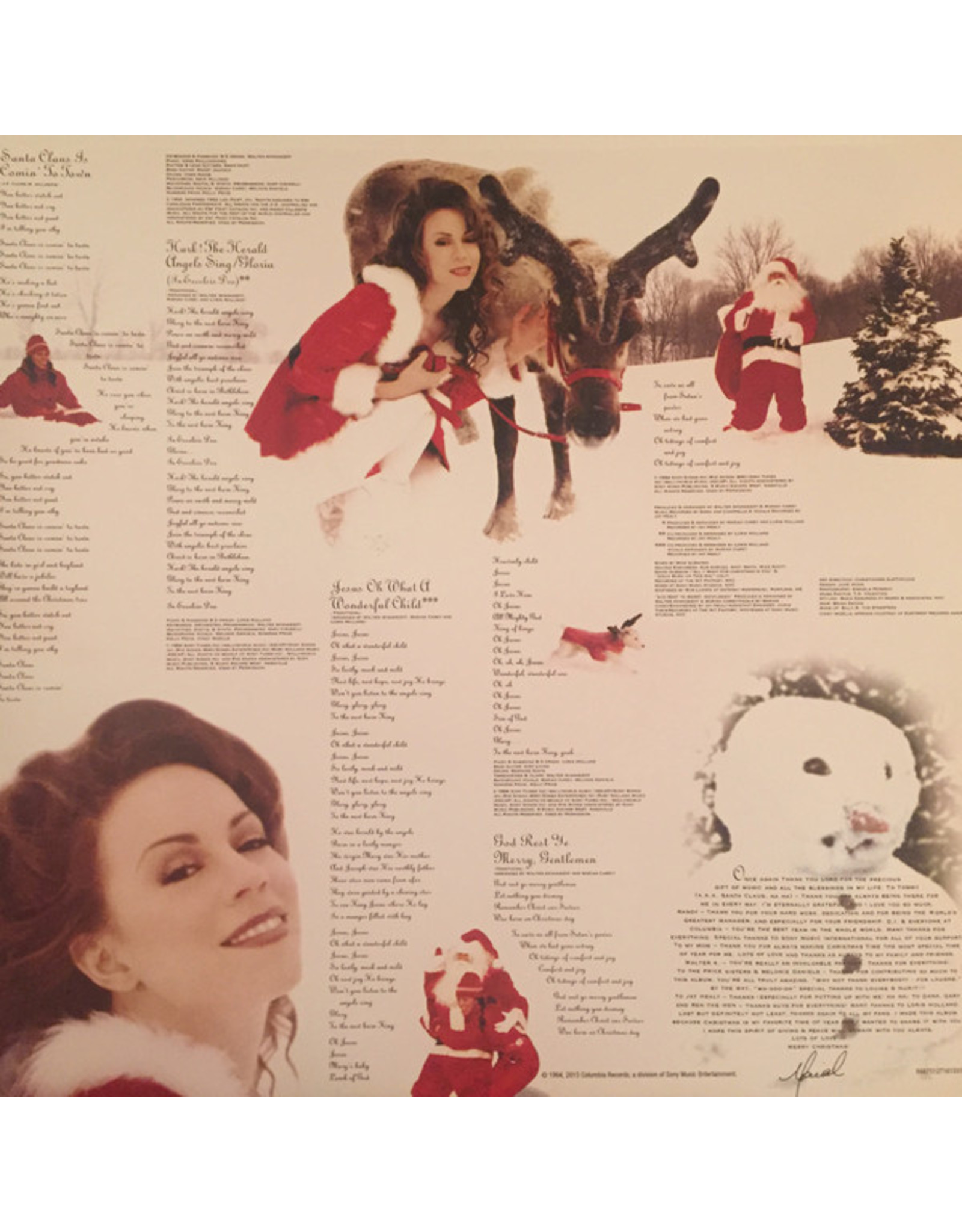 Mariah Carey - Merry Christmas (20th Anniversary) [Red Vinyl]