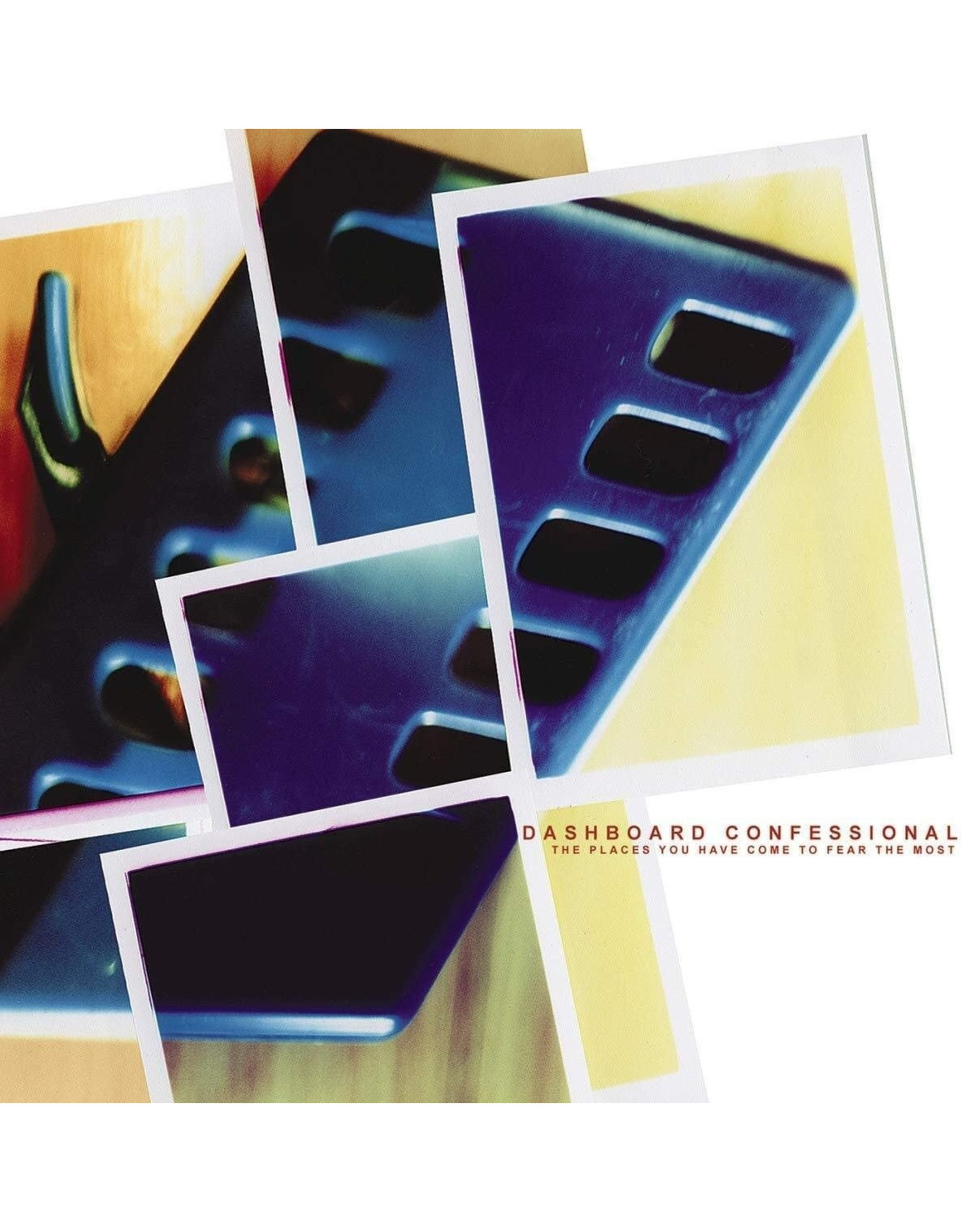 Dashboard Confessional - The Places You Have Come To Fear The Most (Exclusive Orange in Clear Vinyl)