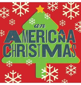 Various - An Americana Christmas (Exclusive Red / Green Vinyl)