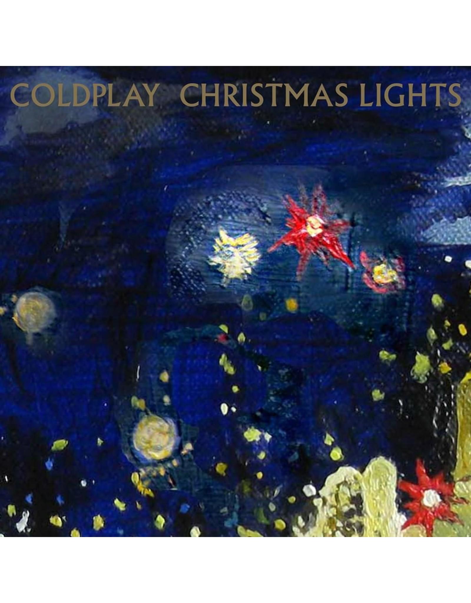 Coldplay - Christmas Lights (Blue Vinyl)