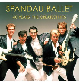 Spandau Ballet - 40 Years: The Greatest Hits (Red Vinyl)