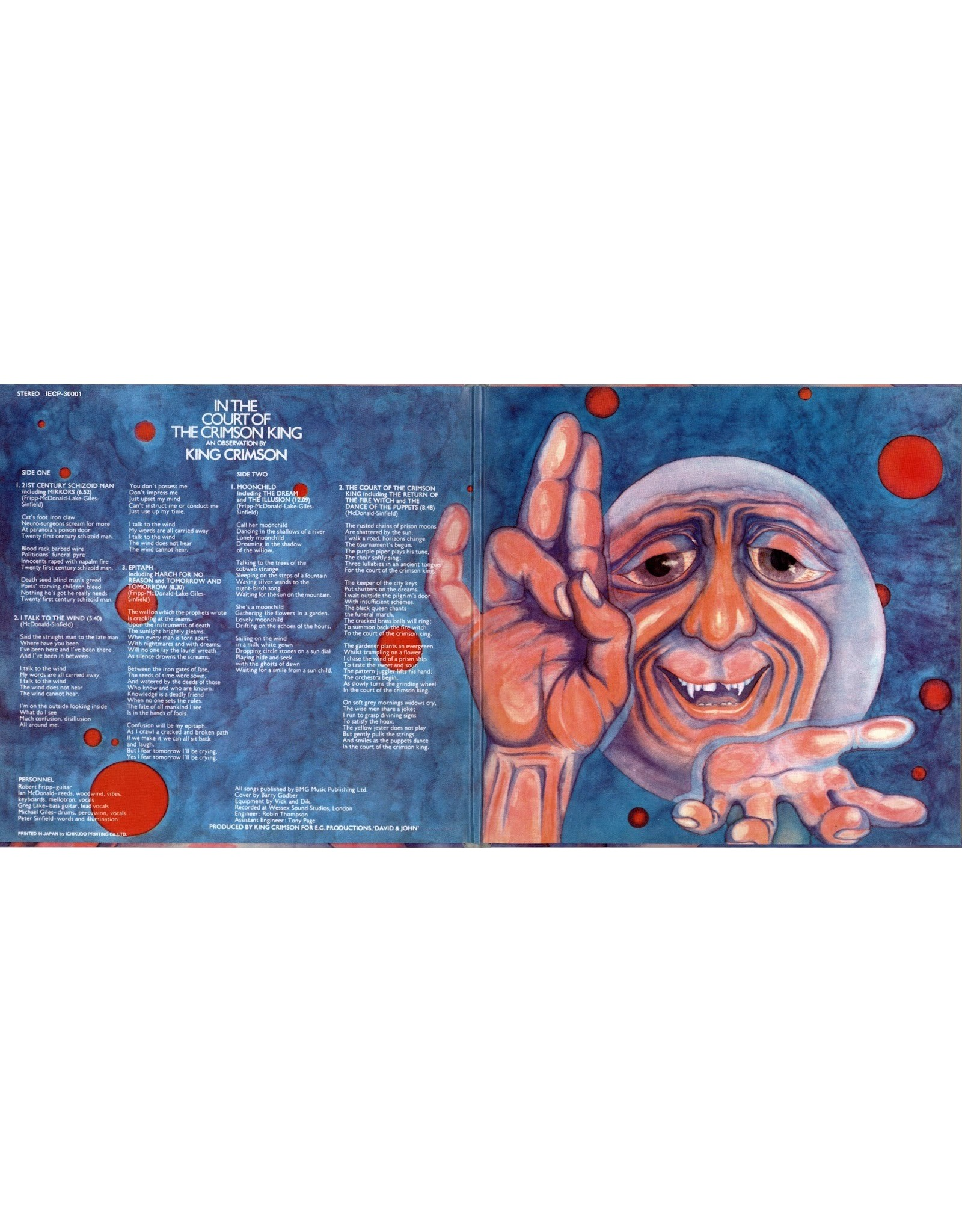 King Crimson - In the Court of the Crimson King (50th Anniversary)