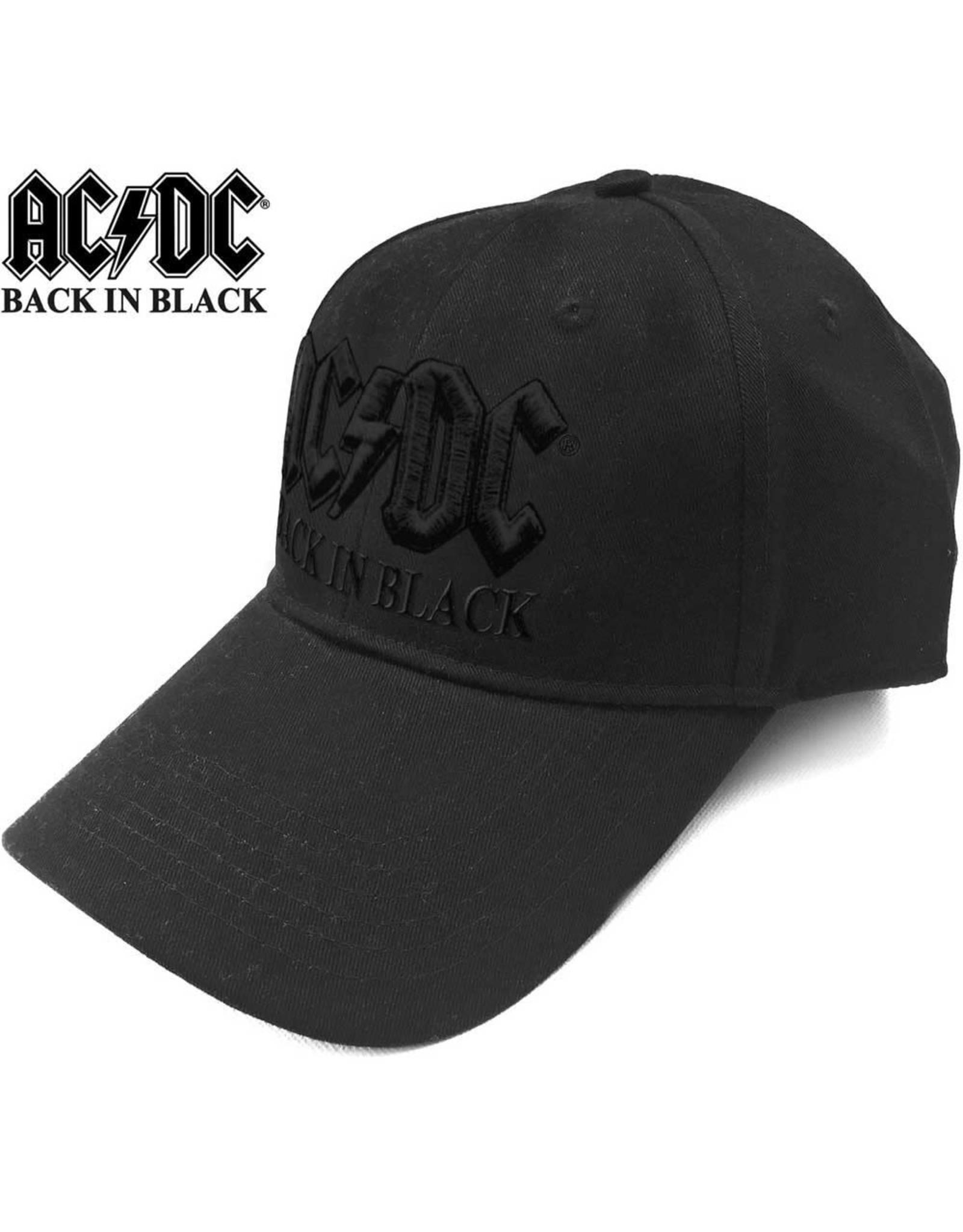 AC/DC / Back In Black Baseball Cap