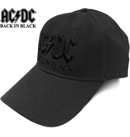 AC/DC / Back In Black Baseball Cap