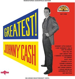Johnny Cash - Johnny Cash's Greatest! (Half Speed Master) [White Vinyl]