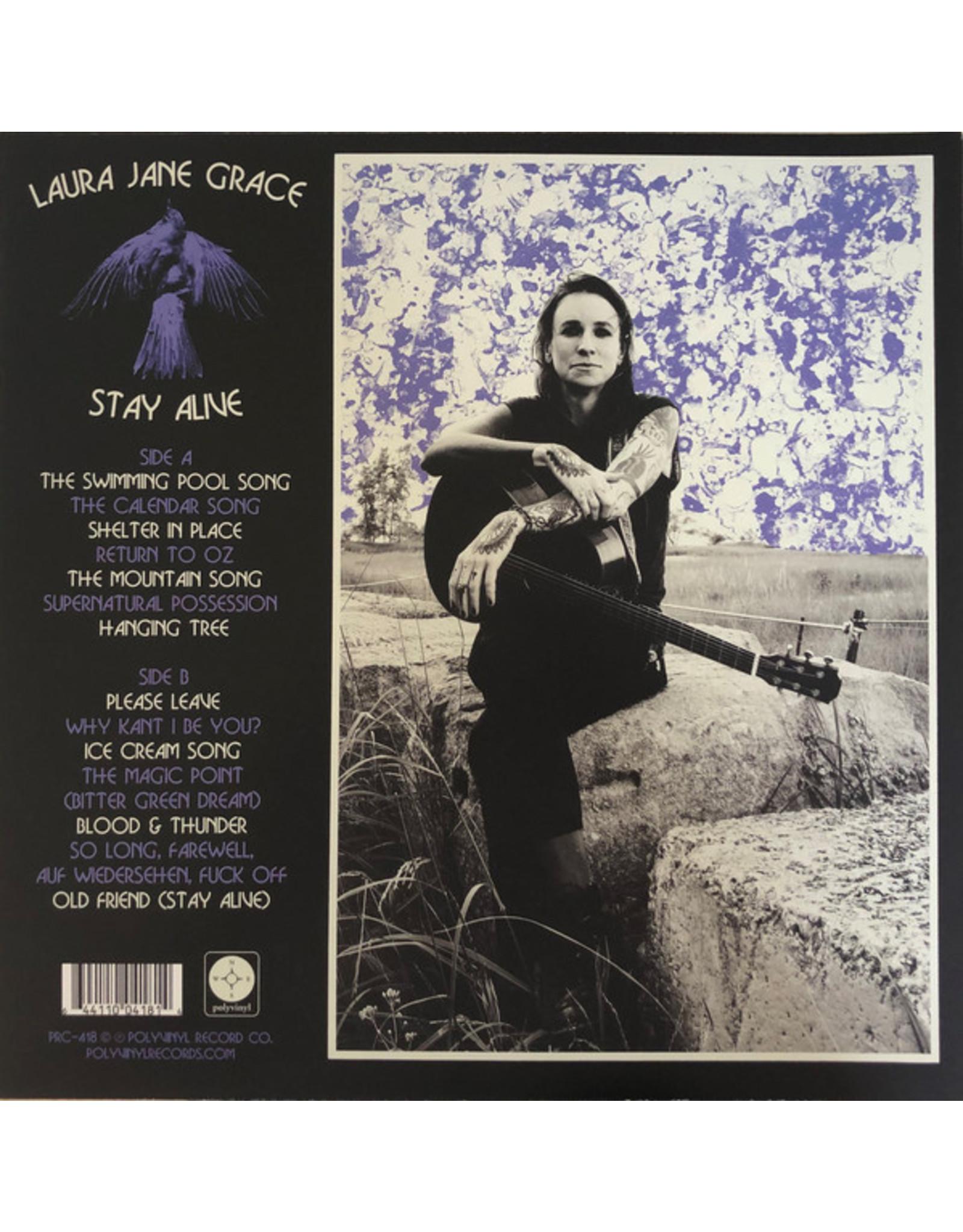 Laura Jane Grace - Stay Alive (Lapis Lazuli Blue Vinyl)