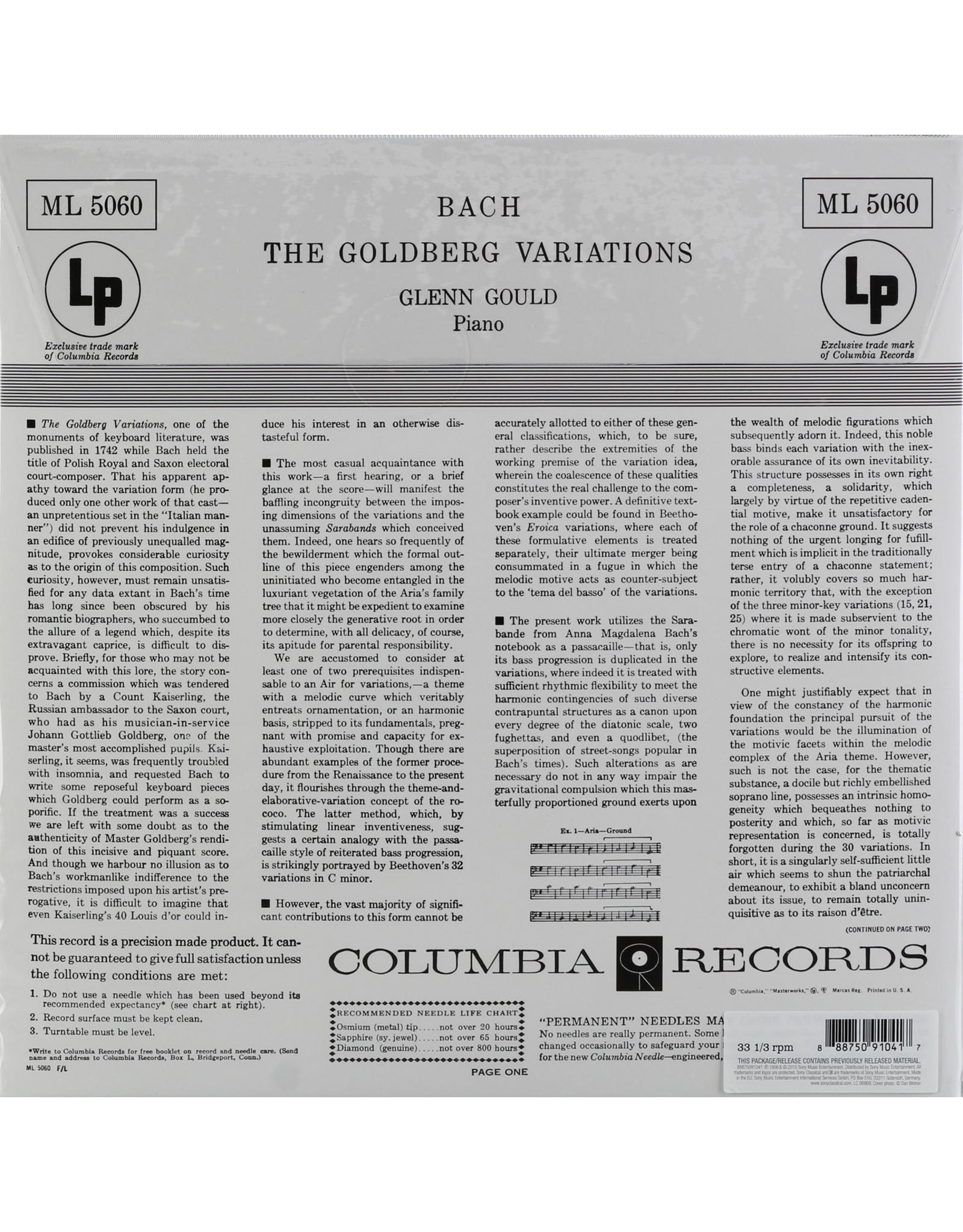 Glenn Gould - Bach: Goldberg Variations (1955 Recordings)
