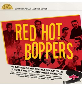 """Various - Red Hot Boppers (Sun Records) [10"""" Red Vinyl]"""