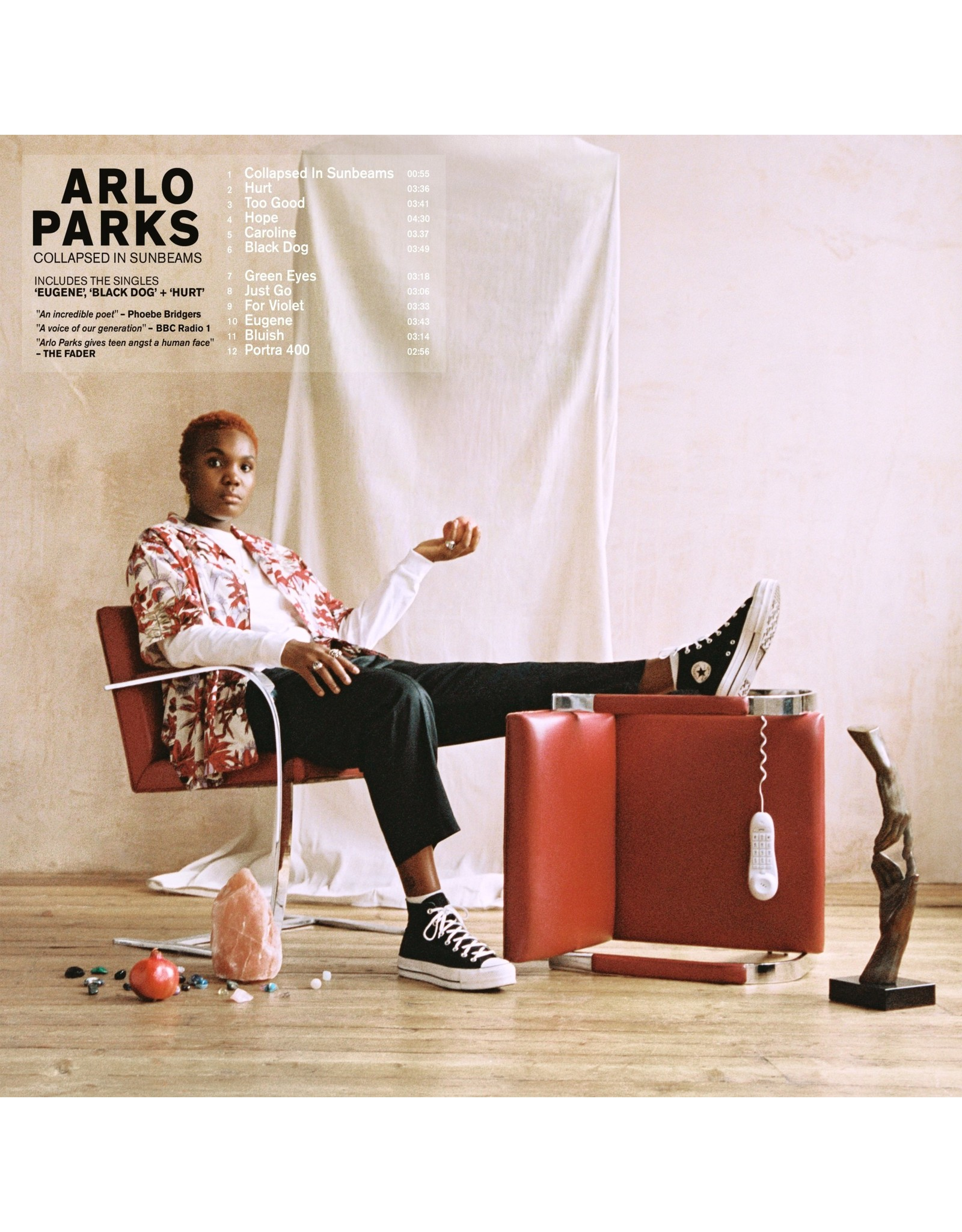 Arlo Parks - Collapsed In Sunbeams (Deep Red Vinyl)