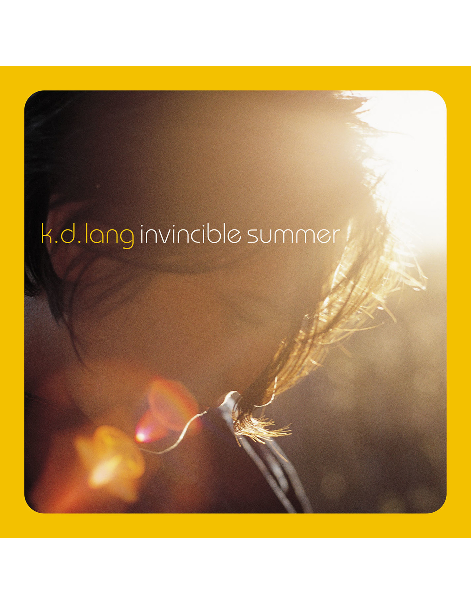k.d. lang - Invincible Summer (20th Anniversary) [Exclusive Yellow Flame Vinyl]