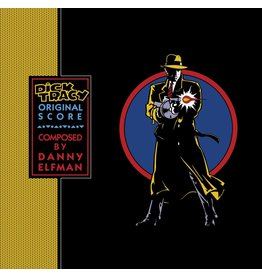 Danny Elfman - Dick Tracy (Original Score) [Exclusive Blue Vinyl]