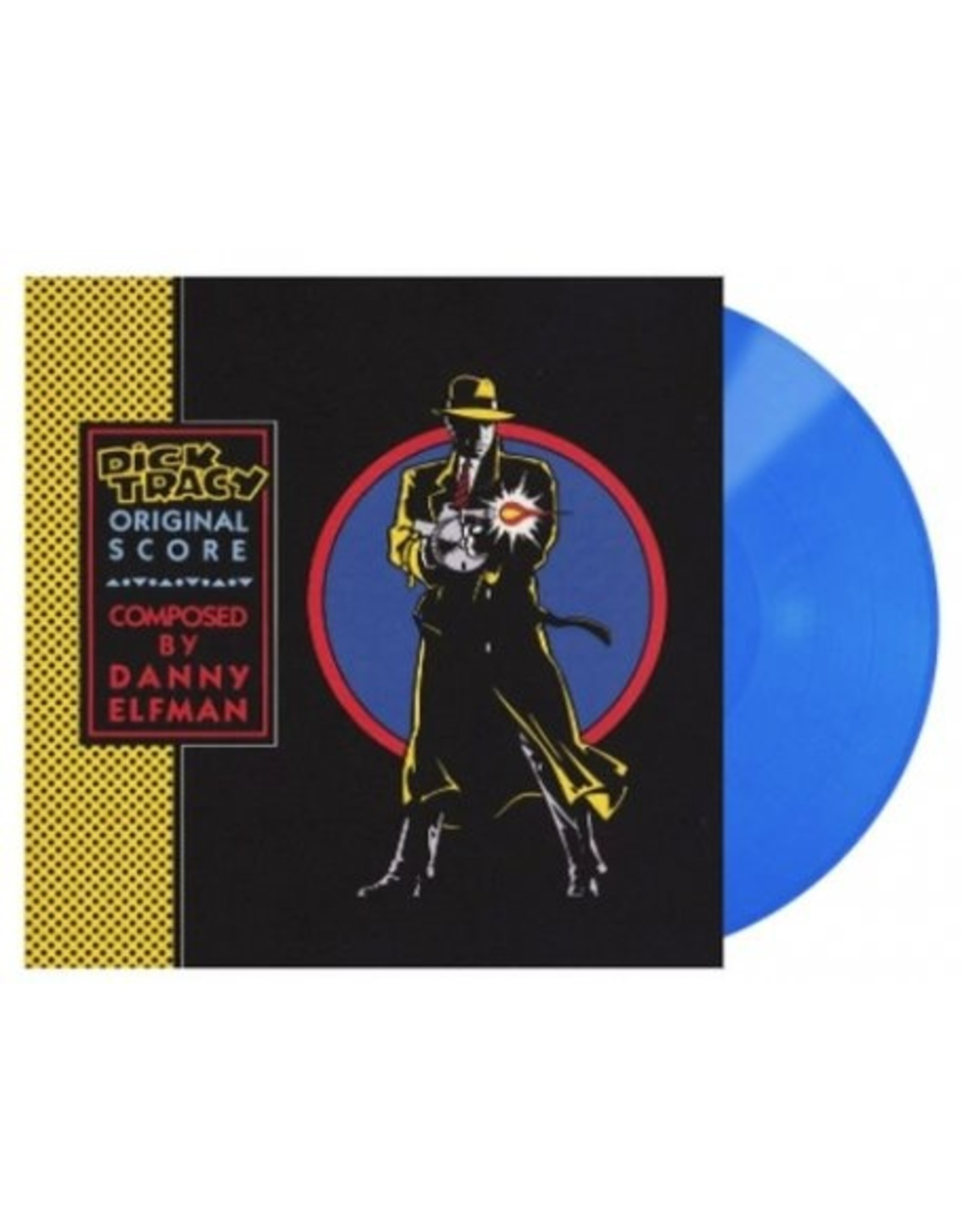 Danny Elfman - Dick Tracy (Original Score) [Exclusive Blue Vinyl]