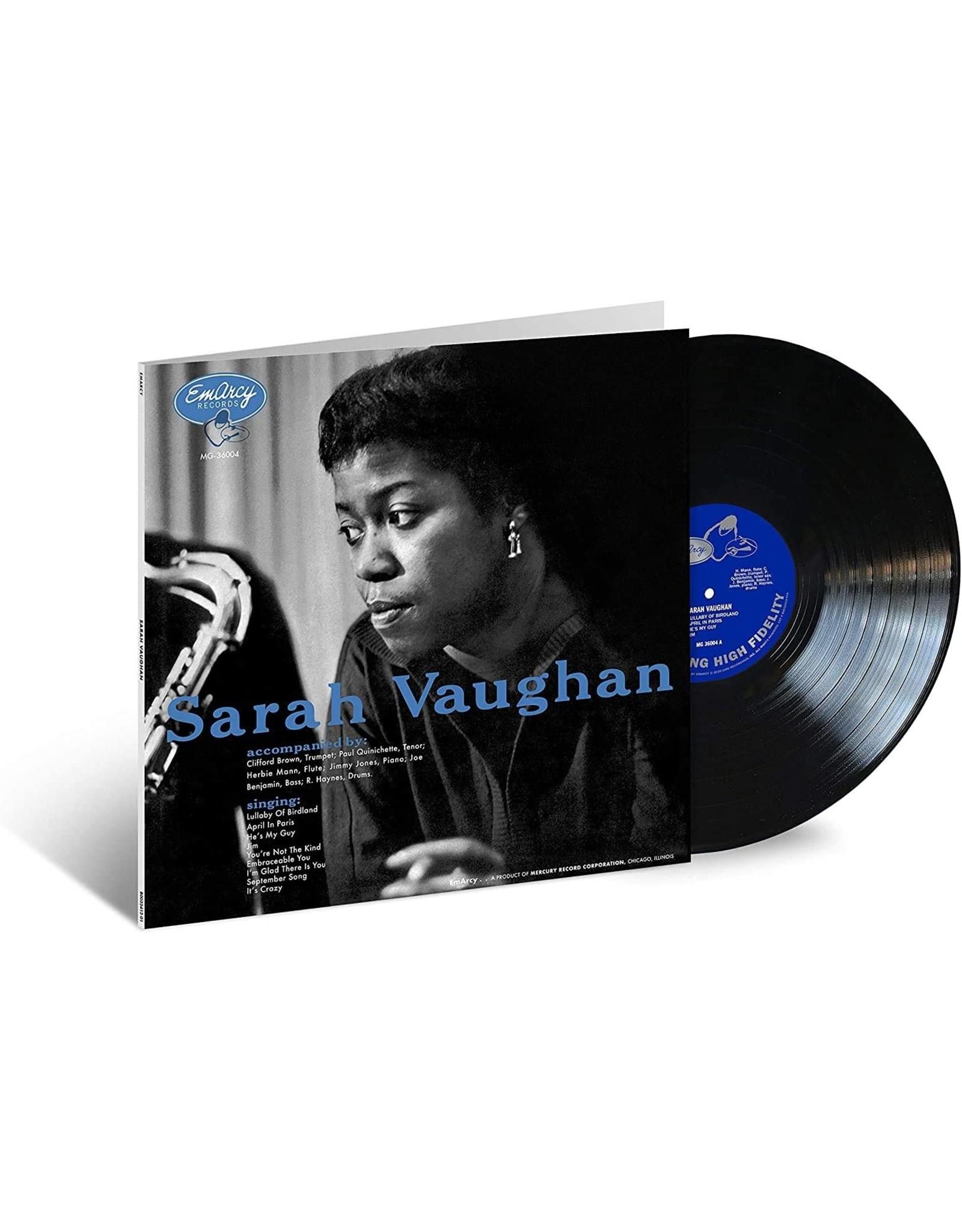 Sarah Vaughan / Clifford Brown - Sarah Vaughan (Verve Acoustic Sounds Series)