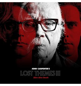 John Carpenter - Lost Themes III: Alive After Death (Transparent Red Vinyl)