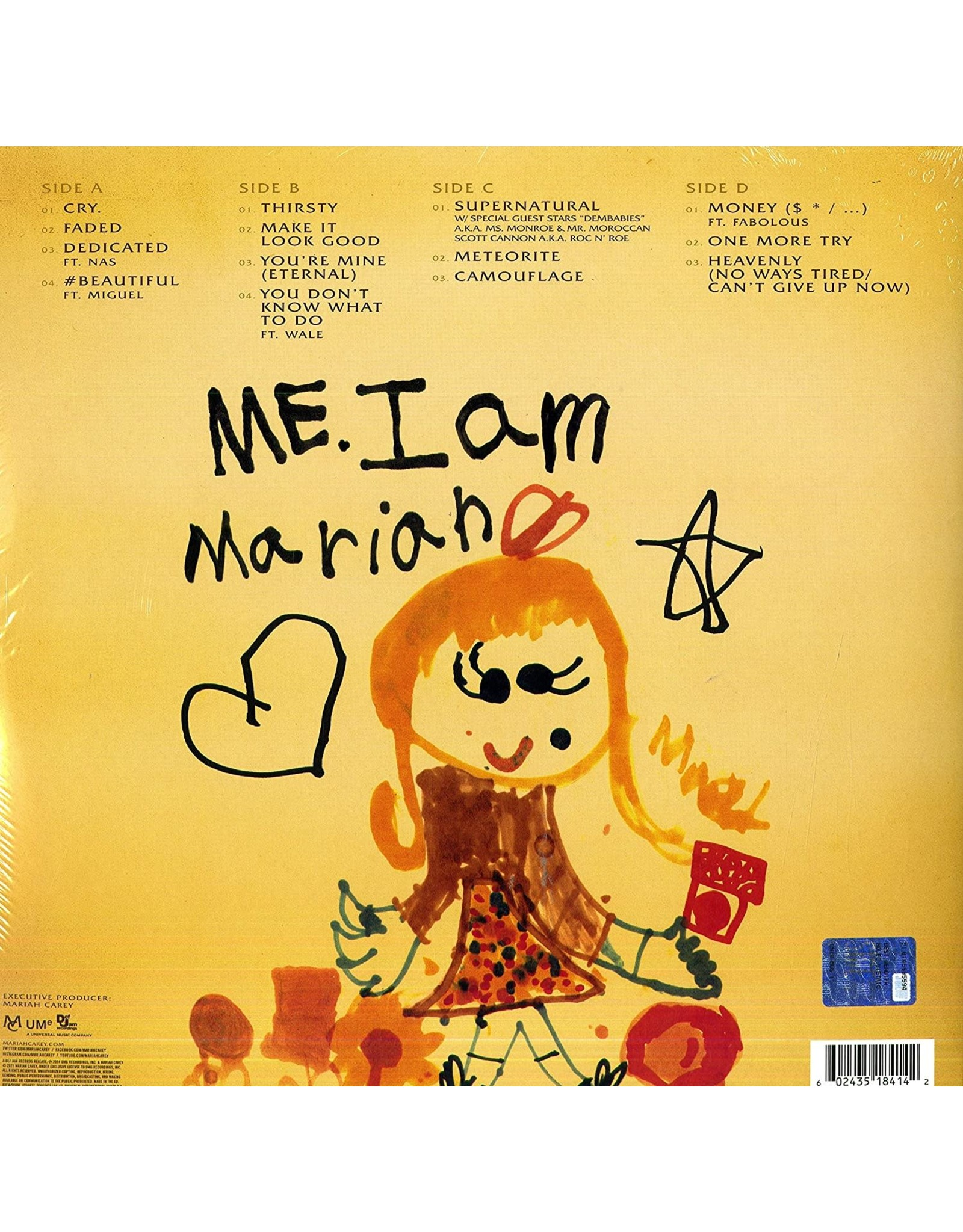 Mariah Carey - Me. I Am Mariah…The Elusive Chanteuse