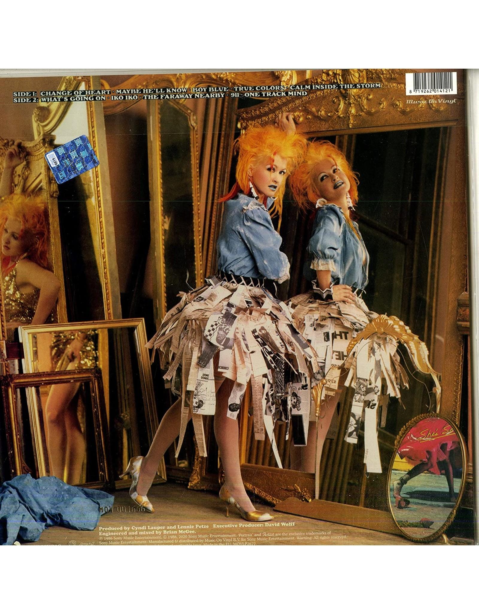 Cyndi Lauper - True Colors (Music On Vinyl) [Flaming Orange Vinyl]