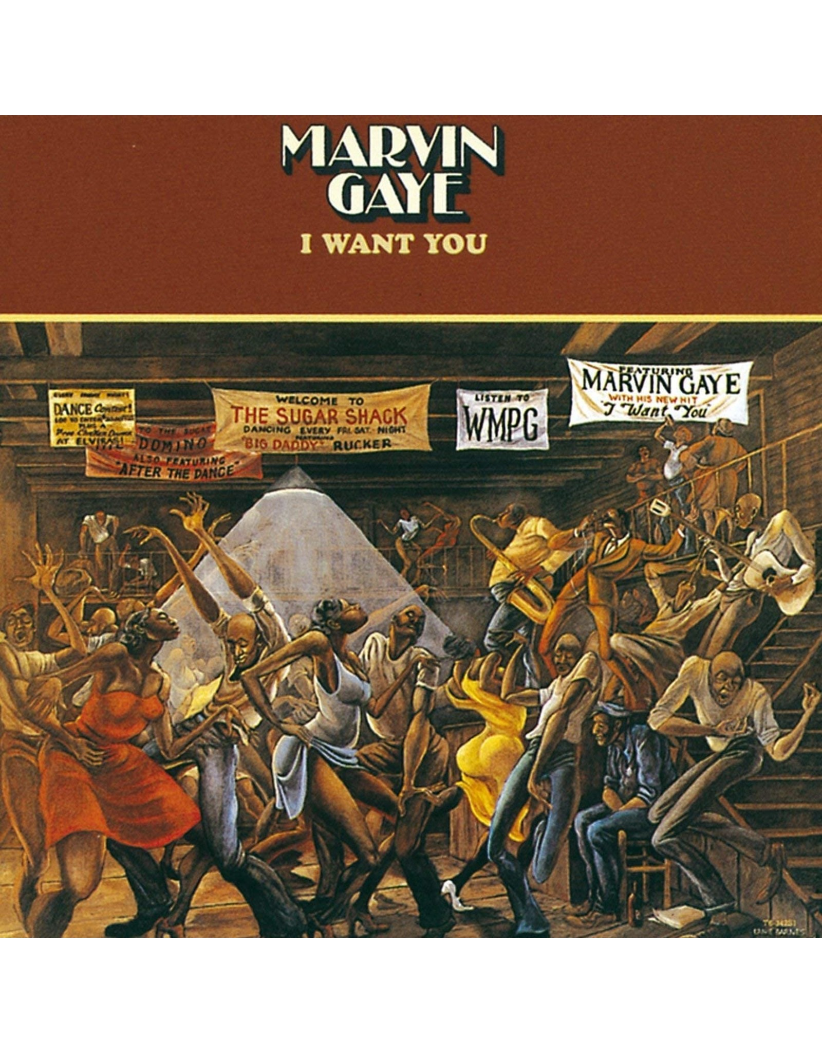 Marvin Gaye - I Want You (UK Edition)