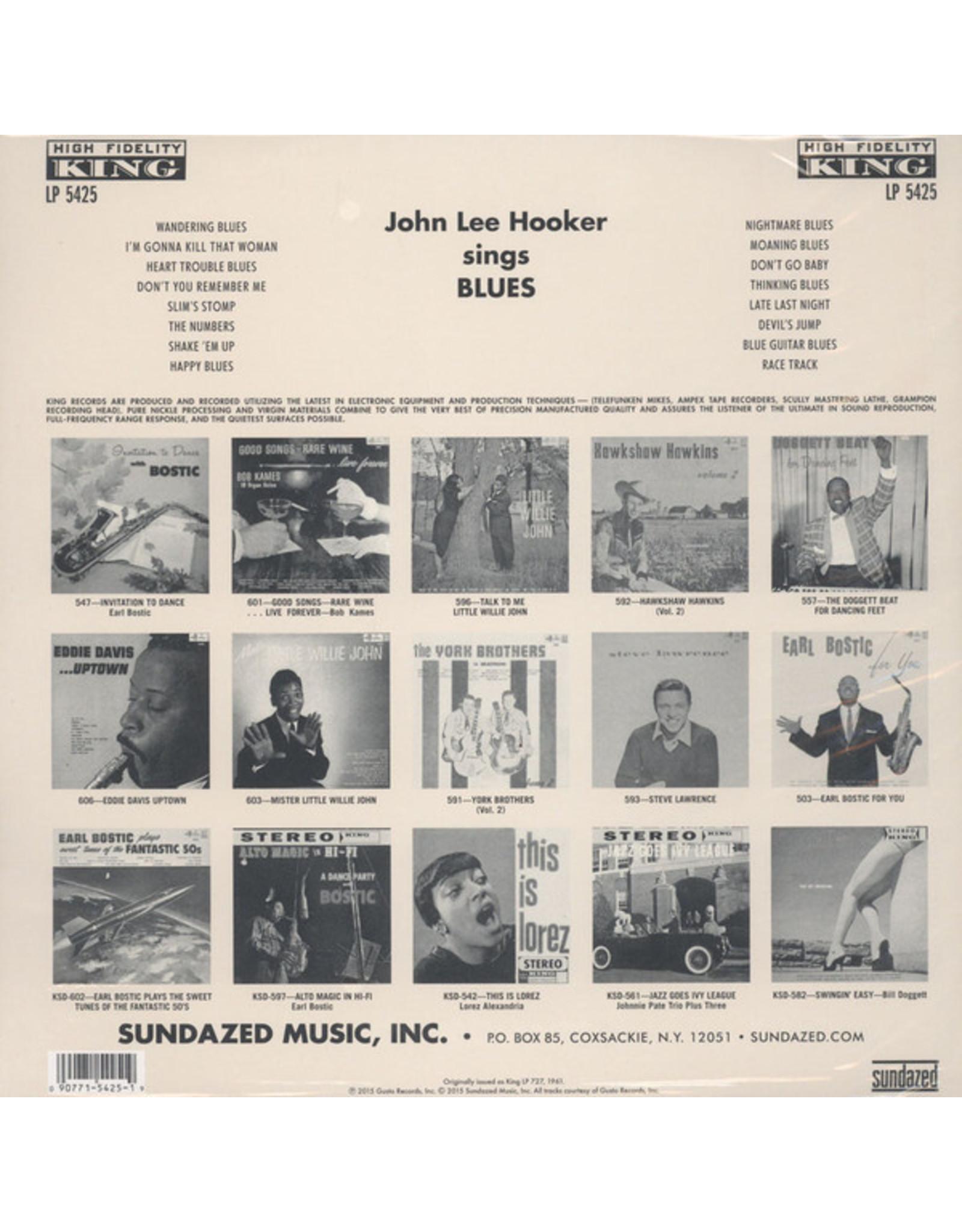 John Lee Hooker -John Lee Hooker Sings The Blues