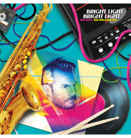 Bright Light Bright Light - So Gay, So Dramatic (Exclusive  Neon Magenta / Neon Yellow Vinyl)