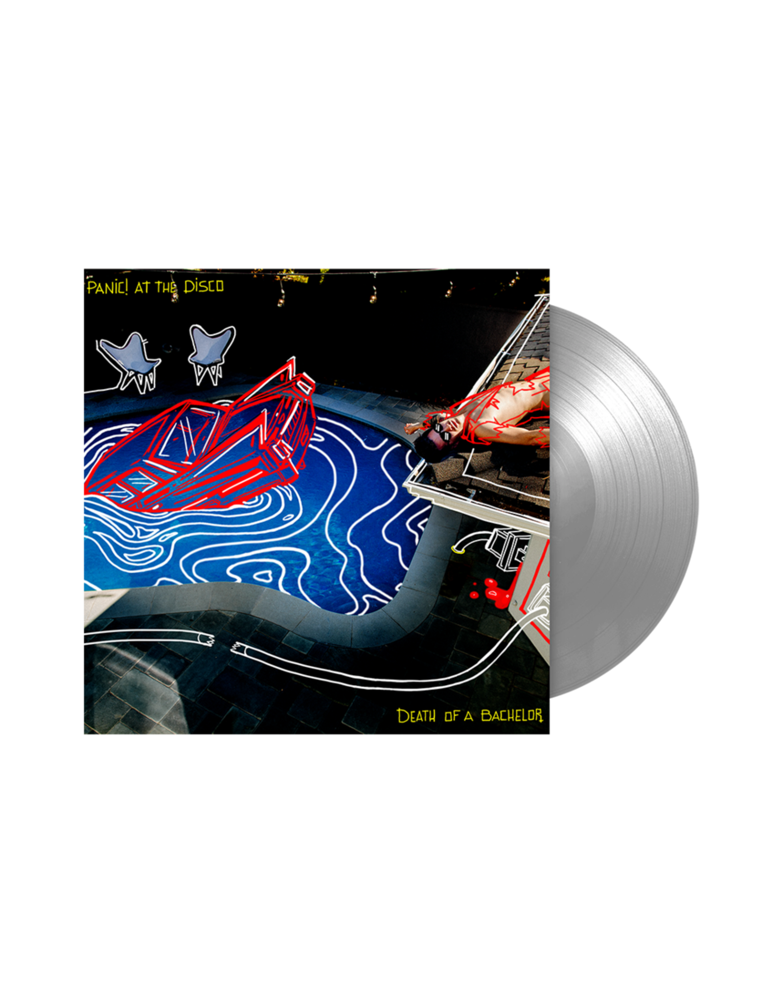 Panic! At The Disco - Death Of A Bachelor (Silver Vinyl)