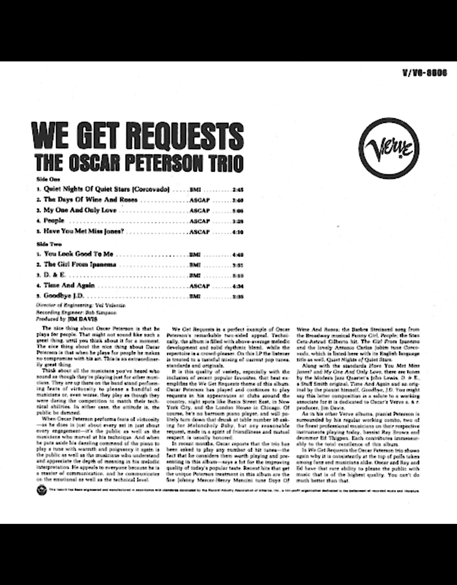 Oscar Peterson Trio - We Get Requests