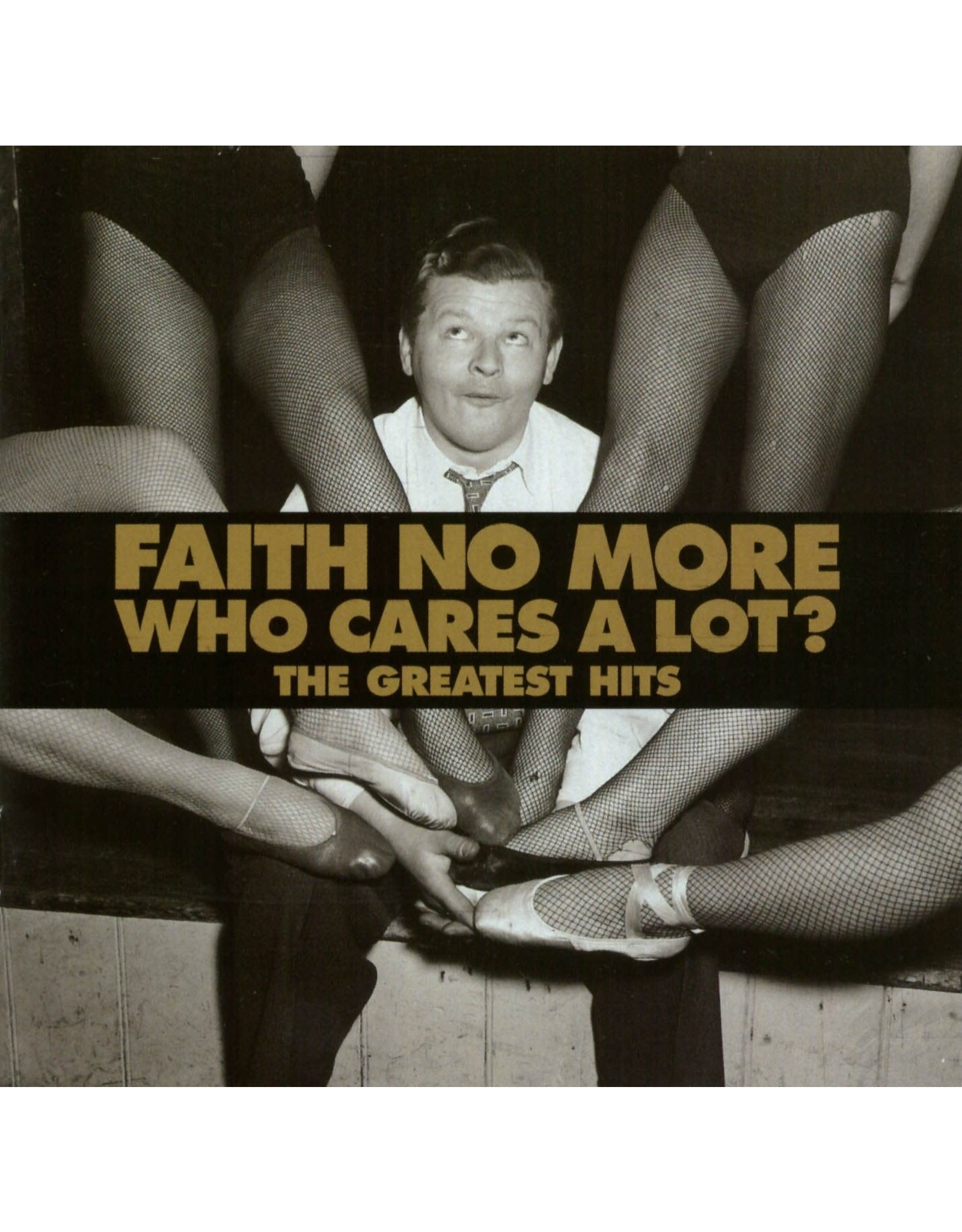 Faith No More - Who Cares A Lot? The Greatest Hits (Gold Vinyl)