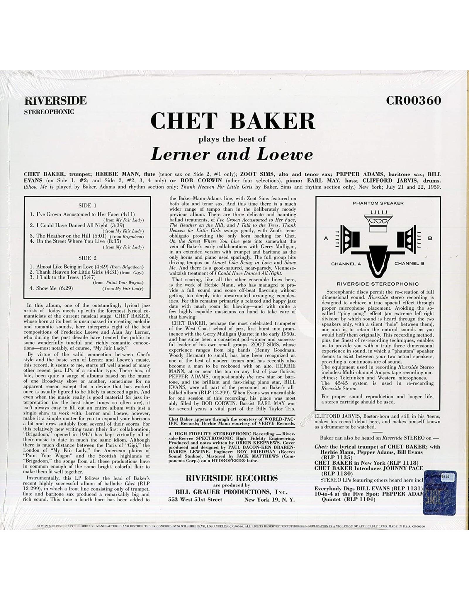 Chet Baker - Plays The Best of Lerner & Loewe (2021 Remaster)