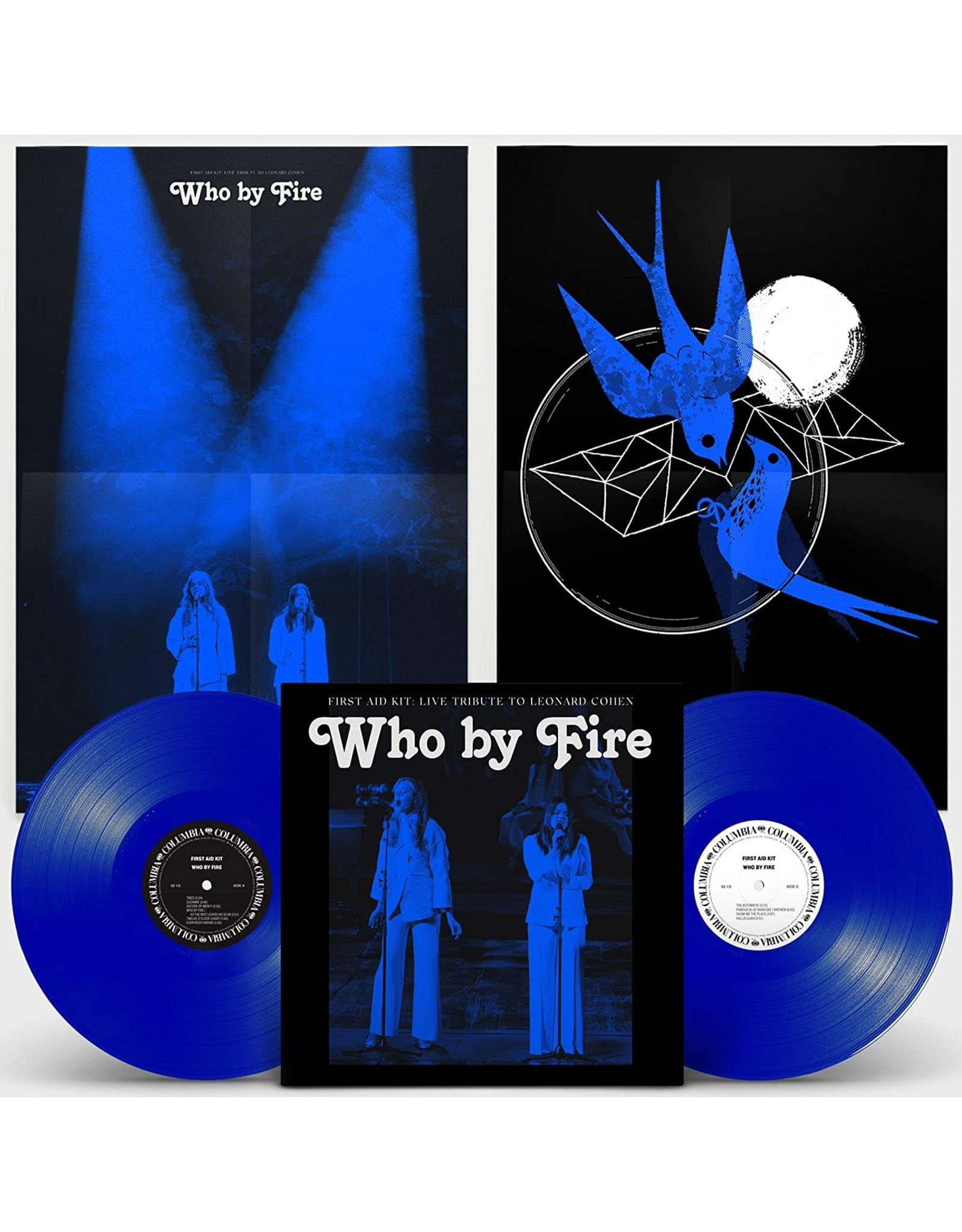 First Aid Kit - Who By Fire: Live Tribute To Leonard Cohen (Blue Vinyl)