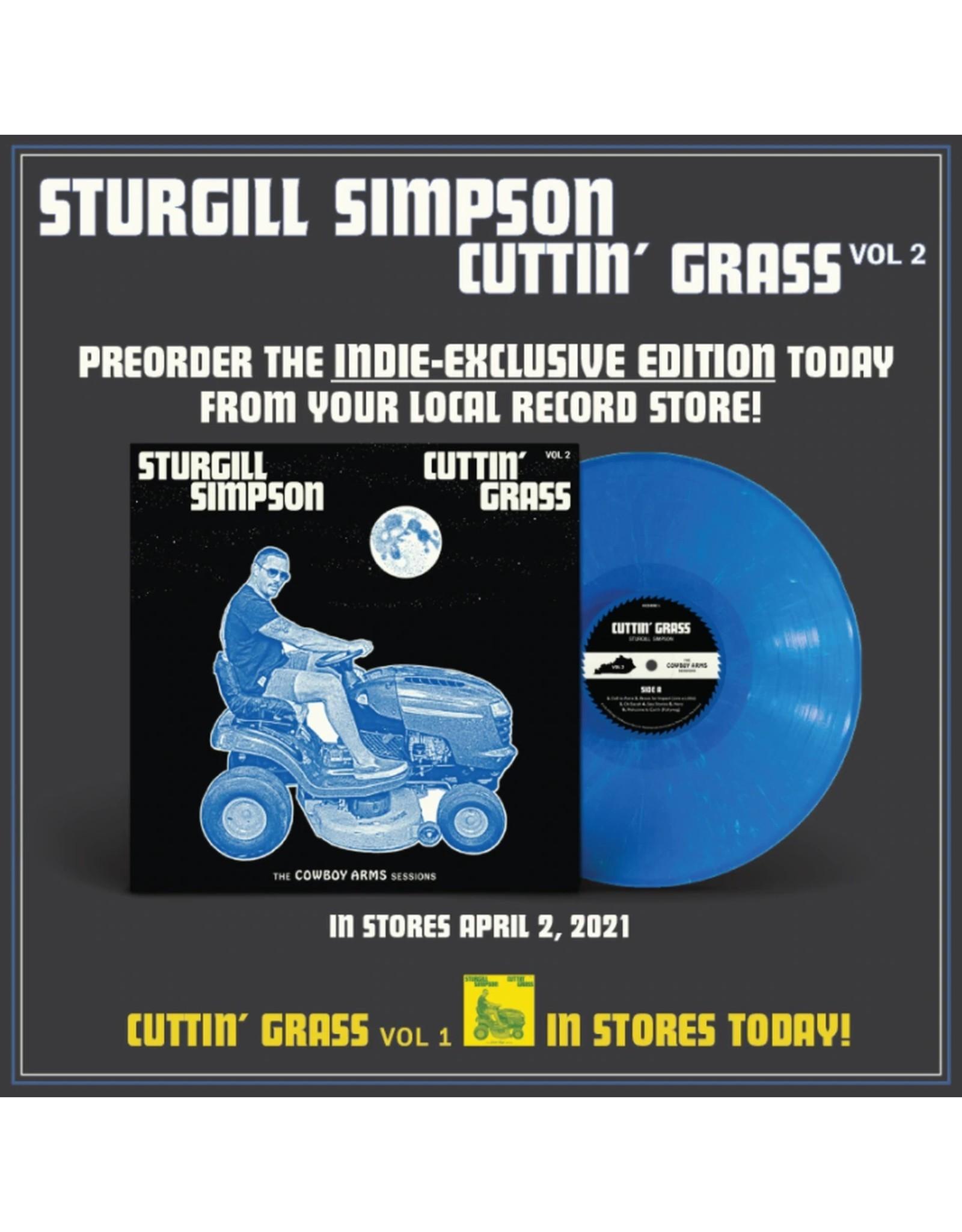 Sturgill Simpson - Cuttin' Grass Vol. 2 (Exclusive Blue Vinyl)