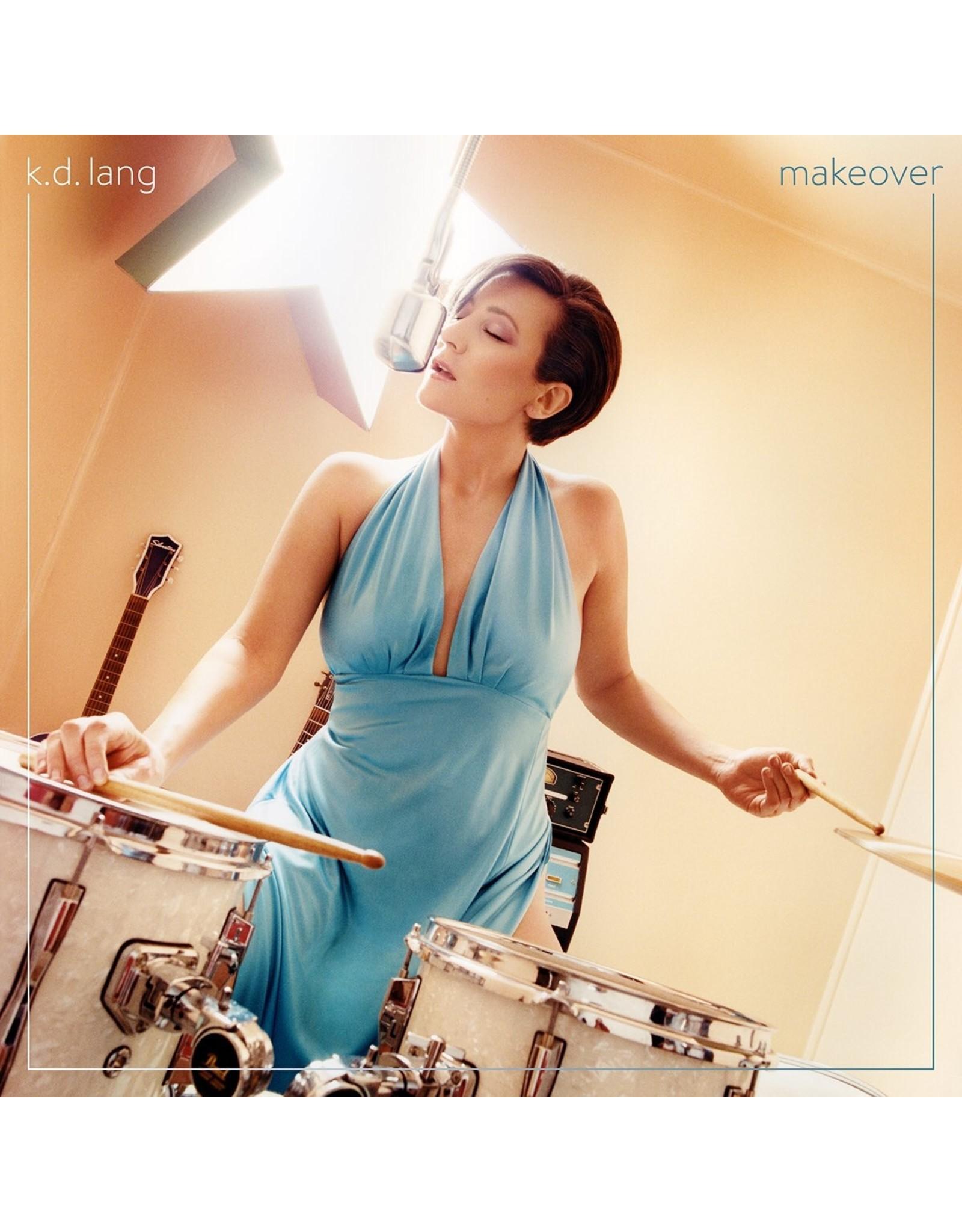 k.d. lang - Makeover (Translucent Turquoise Vinyl)