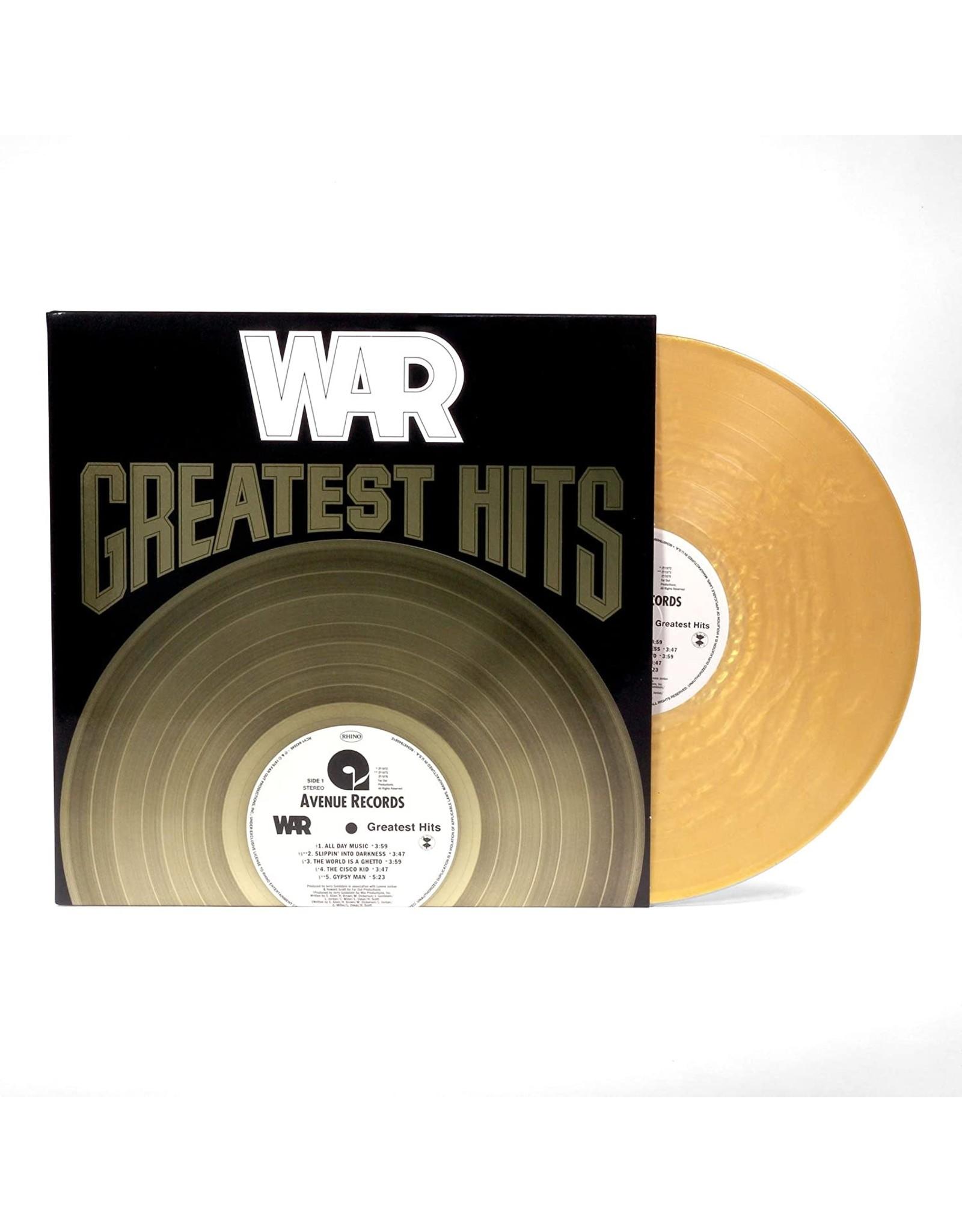 War - Greatest Hits (Gold Vinyl)