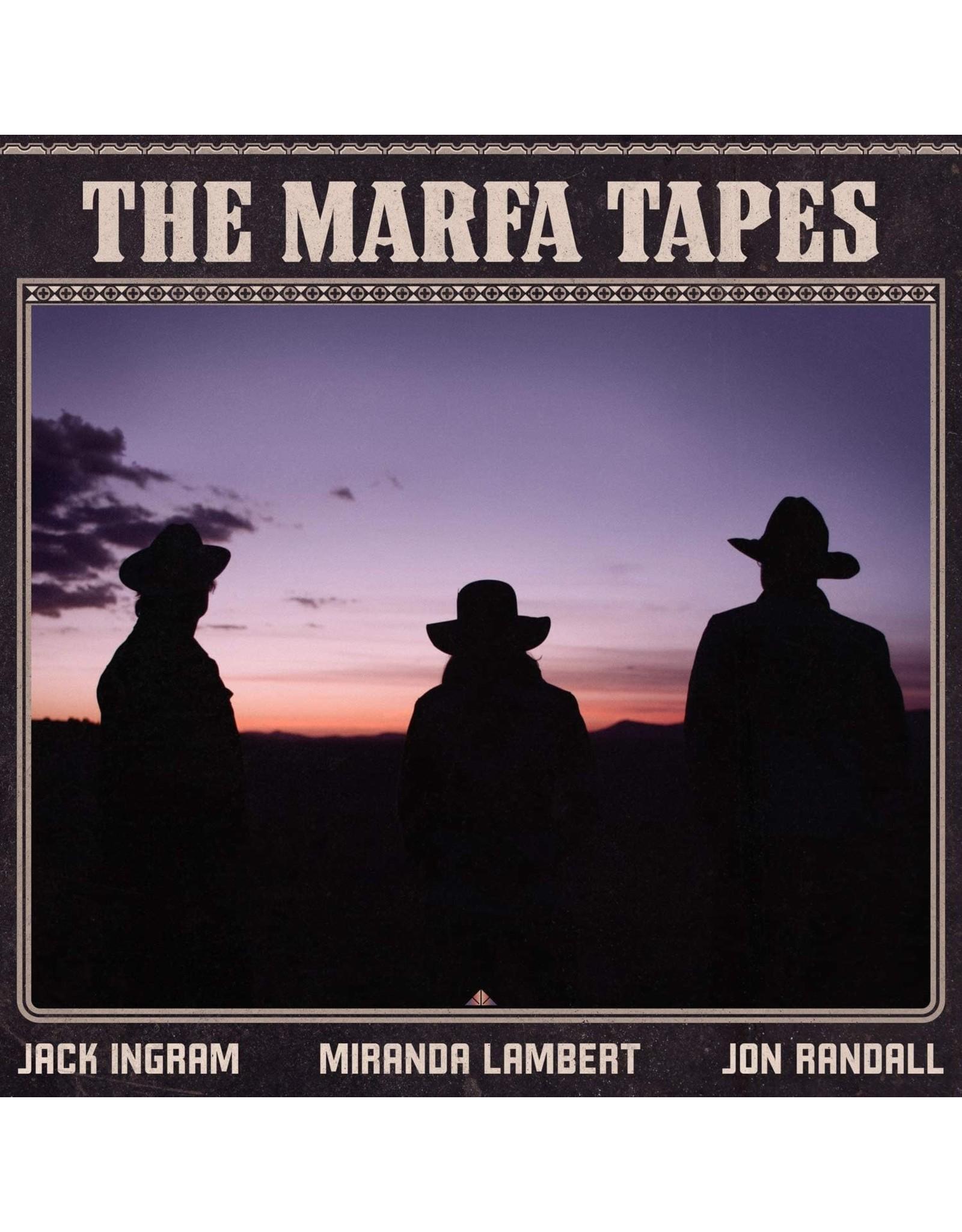 Jack Ingram / Miranda Lambert / Jon Randall - The Marfa Tapes