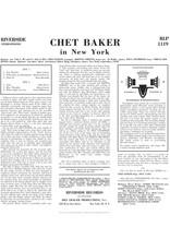 Chet Baker - In New York (2021 Remaster)