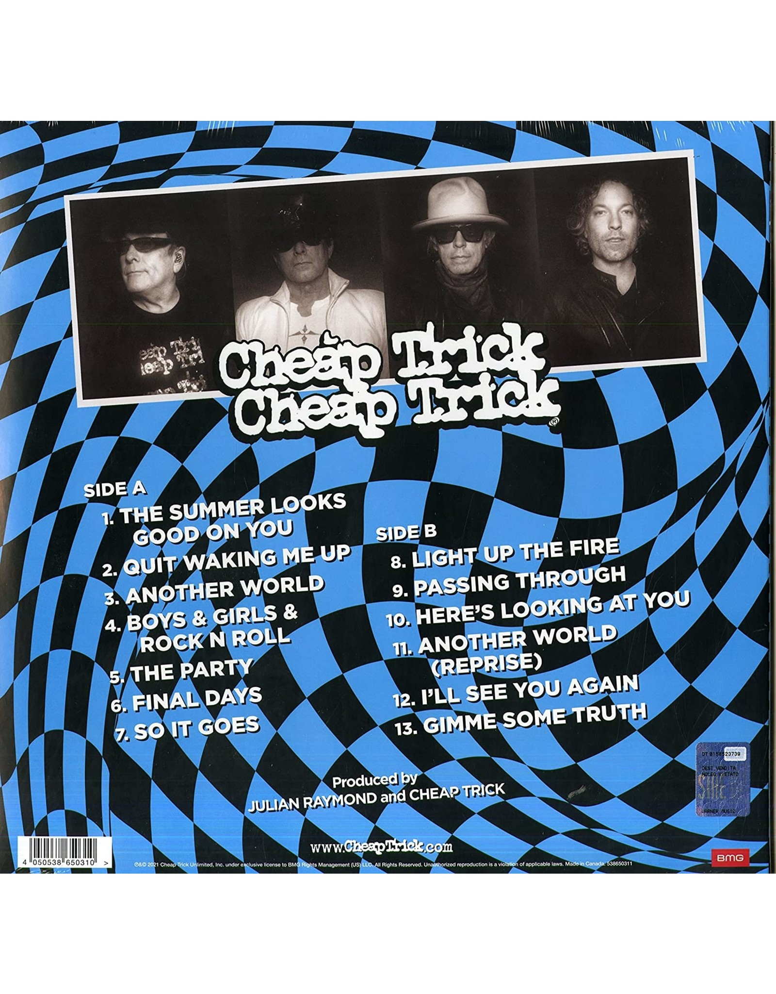 Cheap Trick - In Another World (Exclusive Blue / White Splatter Vinyl)