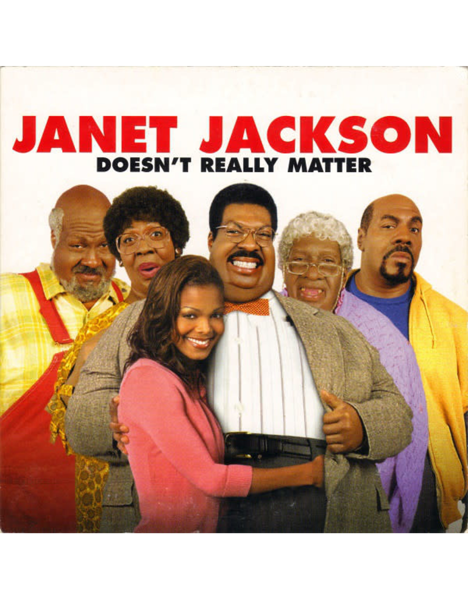 """Janet Jackson - Doesn't Really Matter EP (12"""" Single)"""