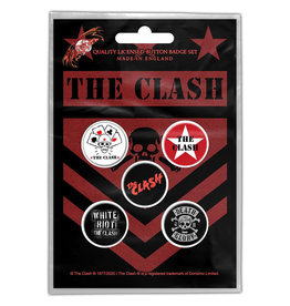 The Clash / Classic Logos Button Pack