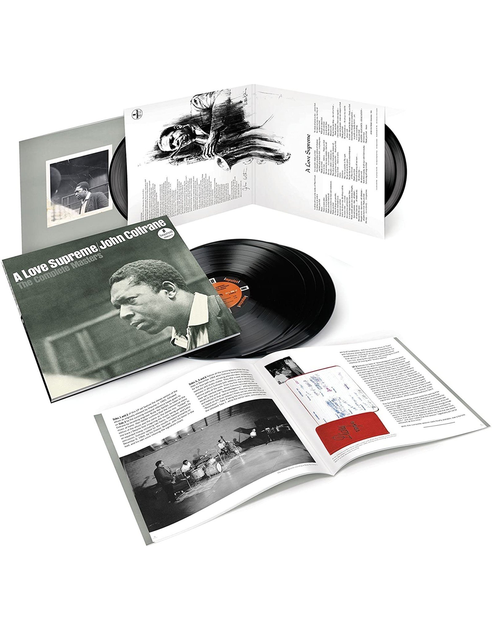 John Coltrane - A Love Supreme: The Complete Masters (3LP)