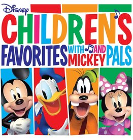 Disney - Children's Favorites With Mickey & Pals (Red Vinyl)