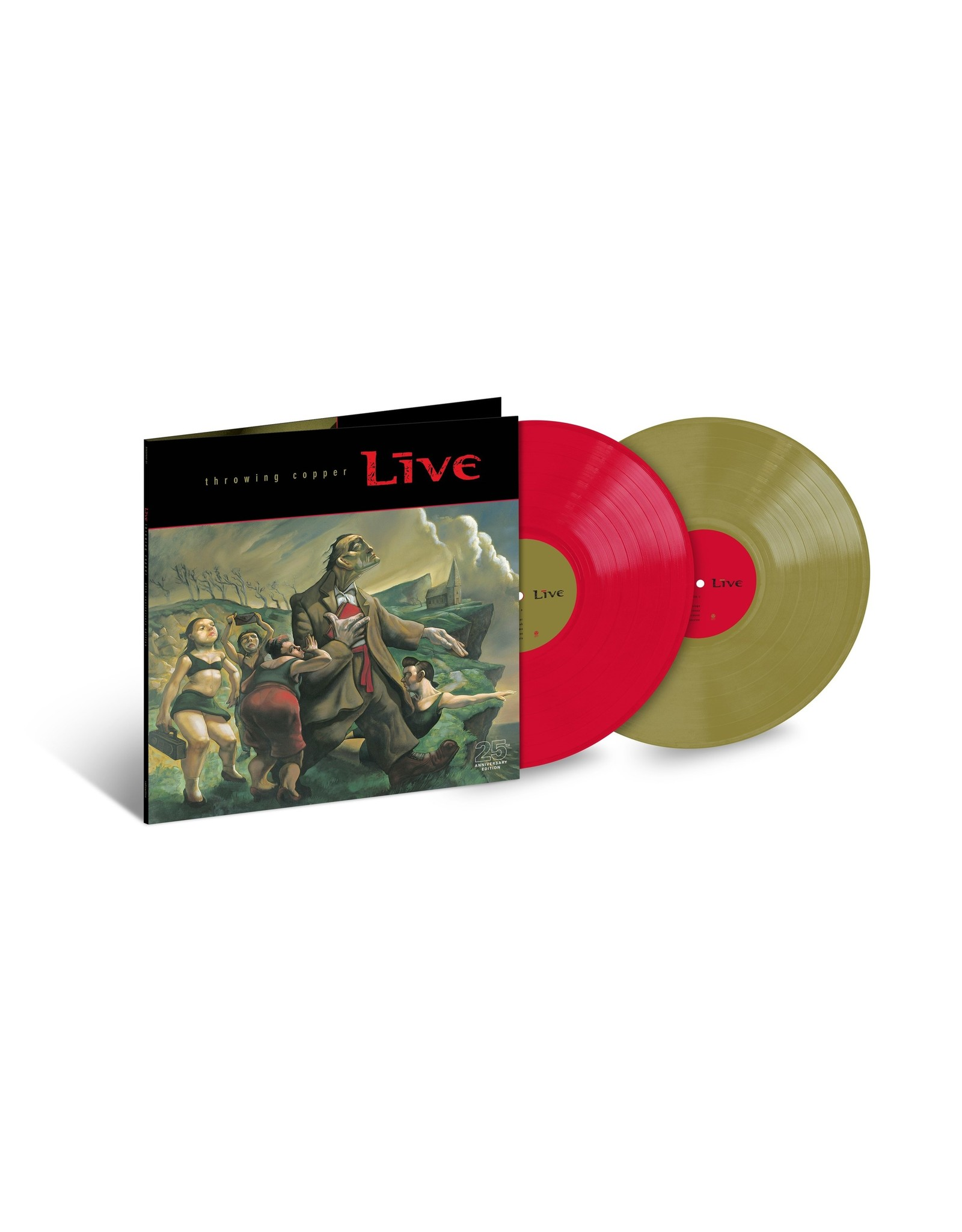 Live - Throwing Copper (Exclusive  Red / Green Vinyl)