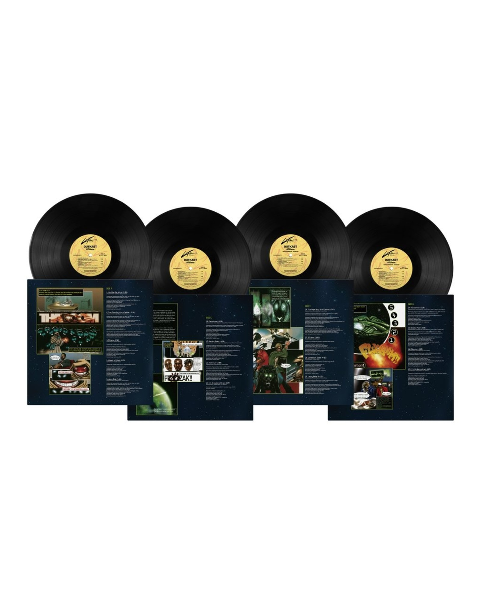OutKast - ATLiens (25th Anniversary) [Expanded 4LP Edition]