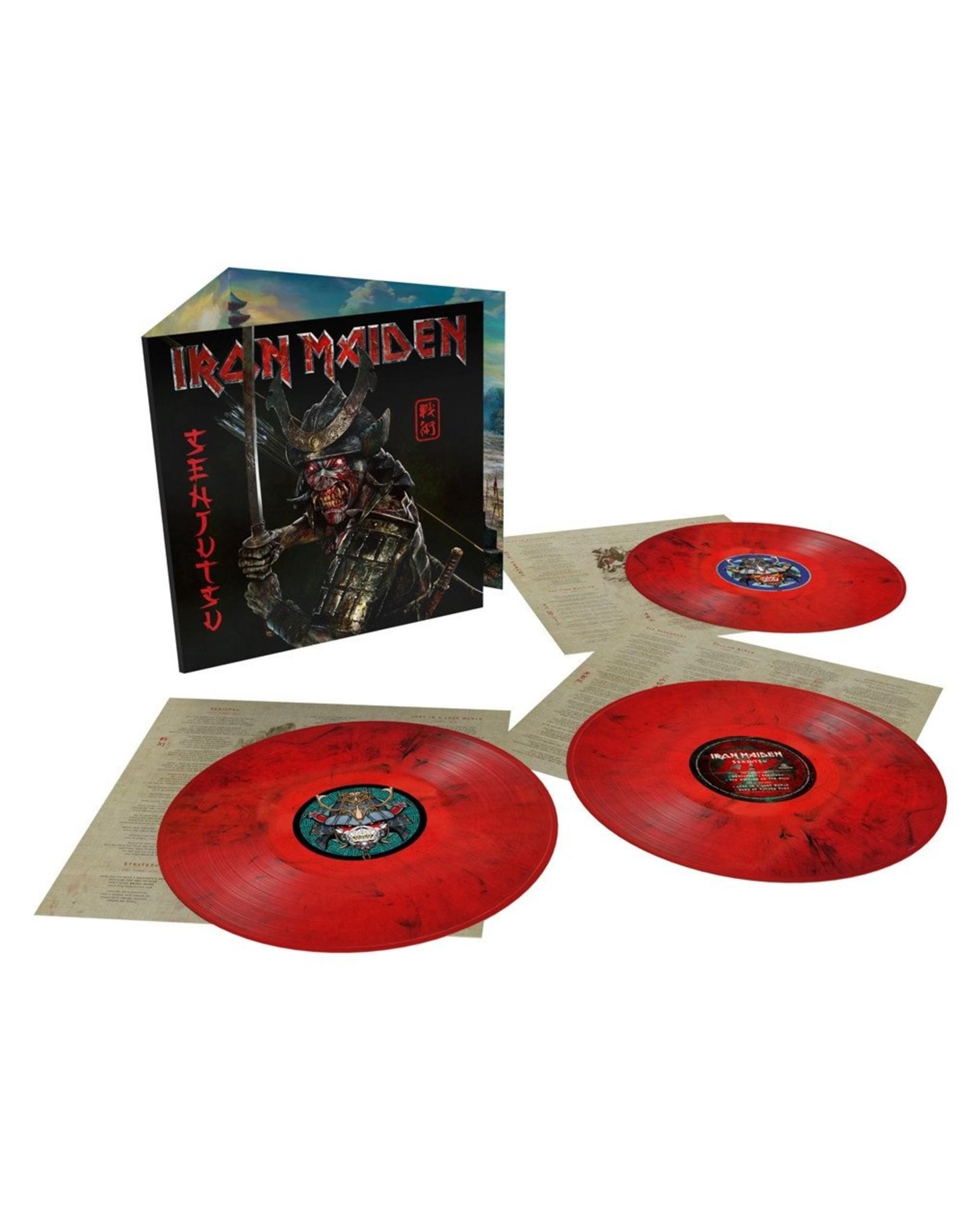 Iron Maiden - Senjutsu (Exclusive Red / Black Vinyl)