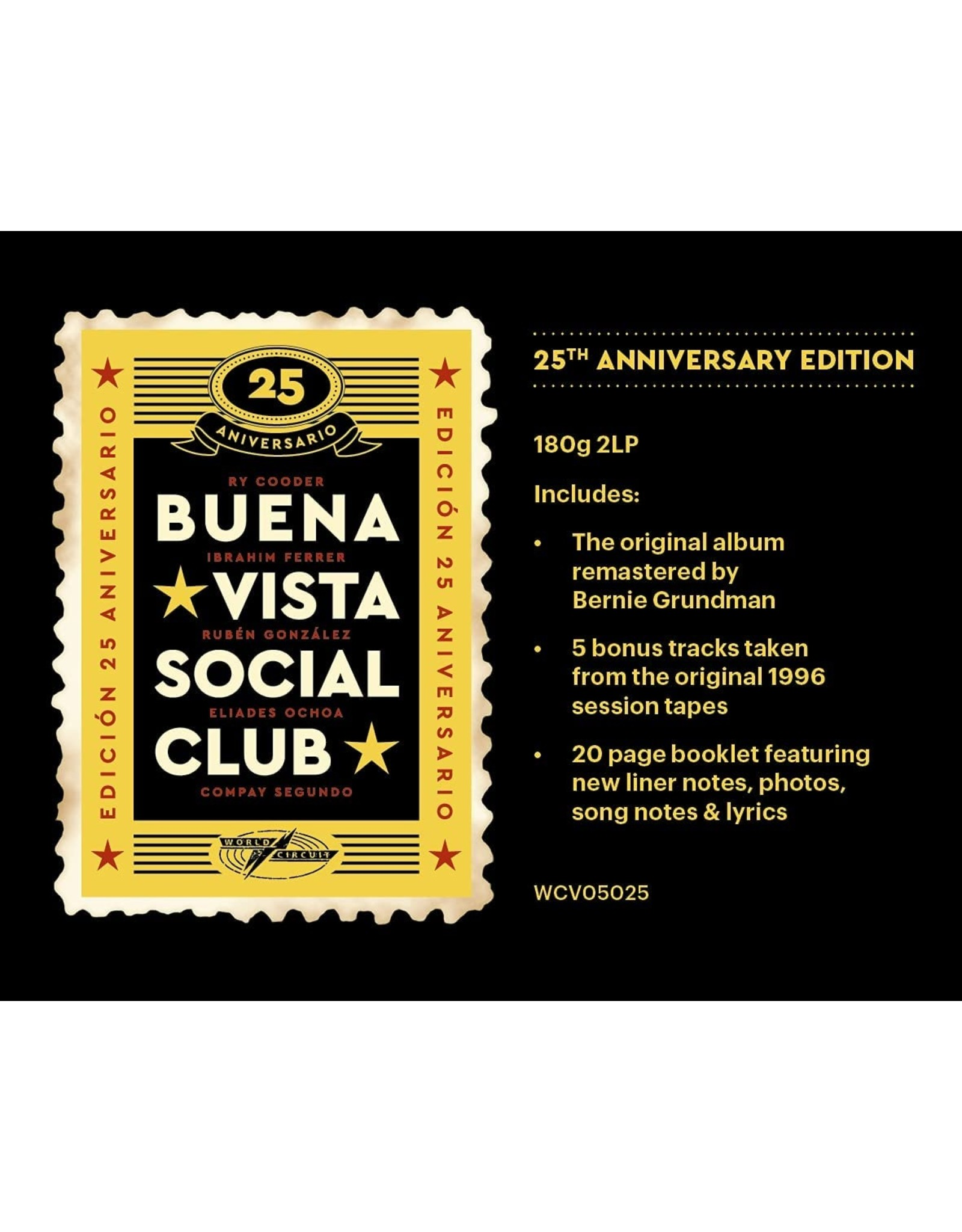 Buena Vista Social Club - Buena Vista Social Club (25th Anniversary)