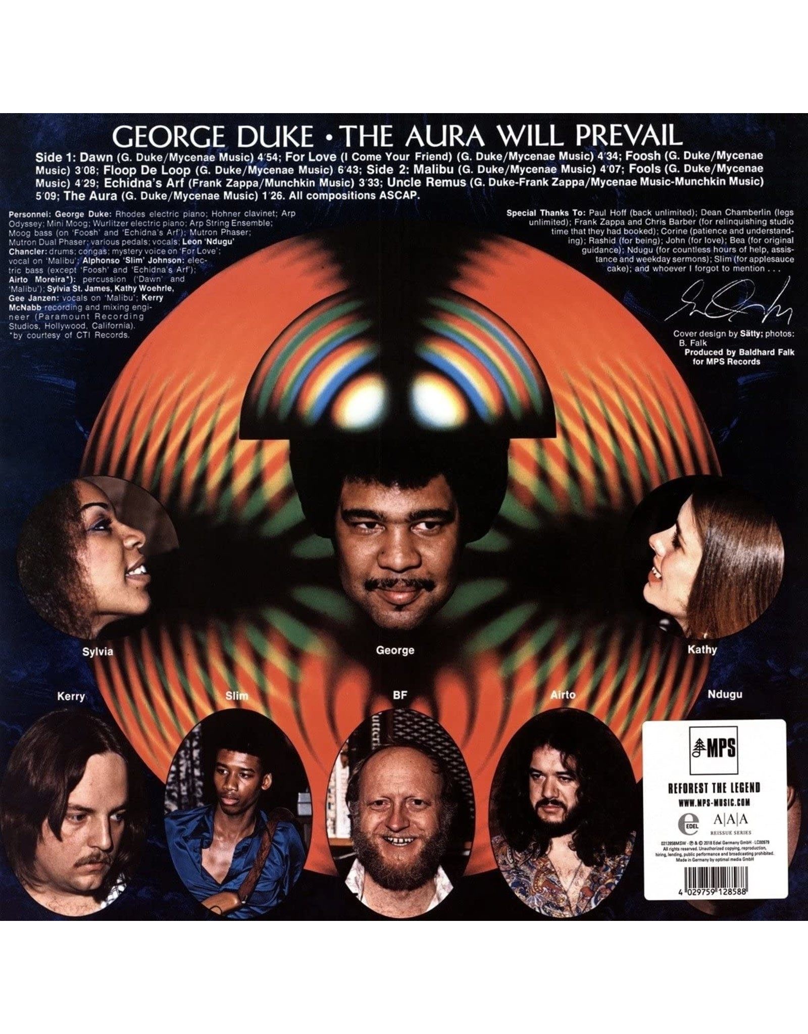 George Duke - The Aura Will Prevail (MPS AAA Series)